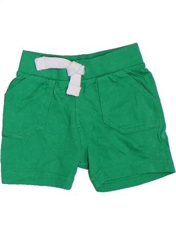 Short-Bermudas niño F&F verde 6 meses verano #1307004_1