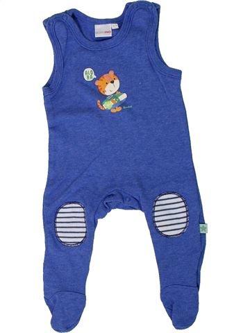 Pijama de 1 pieza niño BORNINO azul 1 mes verano #1307011_1