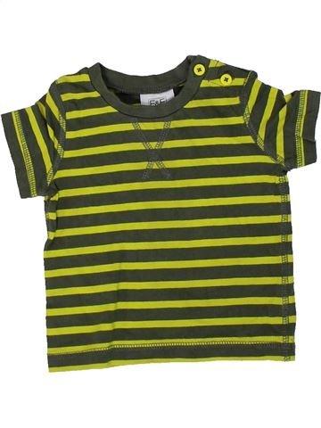 Camiseta de manga corta niño F&F marrón 3 meses verano #1307102_1