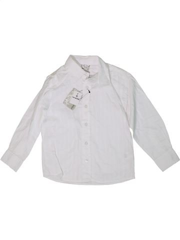 Camisa de manga larga niño PRIMARK blanco 4 años invierno #1307226_1
