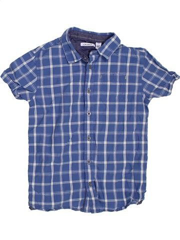 Camisa de manga corta niño OKAIDI azul 8 años verano #1307273_1