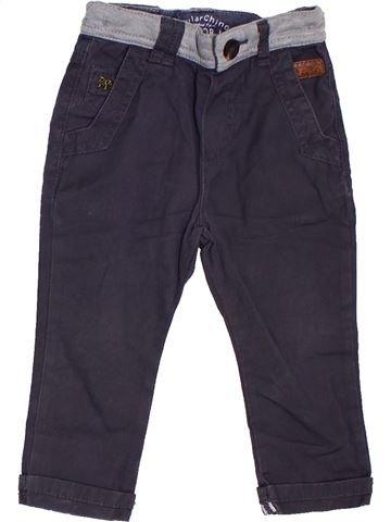 Pantalón niño JUNIOR J azul 18 meses verano #1307292_1