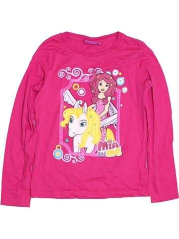 T-shirt manches longues fille MIA AND ME rose 12 ans hiver #1307300_1