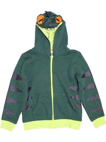 Sudadera niño H&M verde 8 años invierno #1307328_1