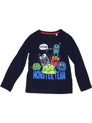 Camiseta de manga larga niño C&A negro 5 años invierno #1307329_1