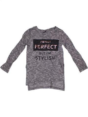 T-shirt manches longues fille Y.F.K violet 8 ans hiver #1307364_1