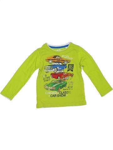 T-shirt manches longues garçon C&A vert 4 ans hiver #1307371_1