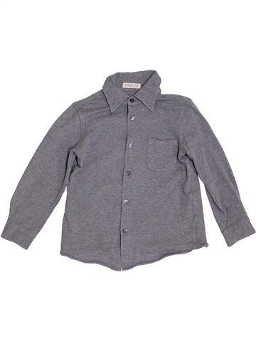 Camisa de manga larga niño BABE & TESS gris 5 años invierno #1307375_1