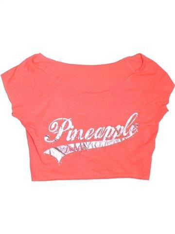 T-shirt manches courtes fille DEBENHAMS rose 14 ans été #1307585_1
