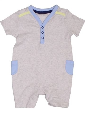 Combinación corta niño GEORGE blanco 3 meses verano #1307607_1