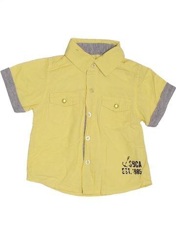 Camisa de manga corta niño PRIMARK amarillo 9 meses verano #1307633_1
