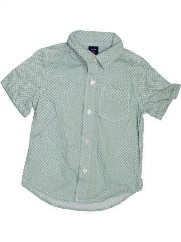 Camisa de manga corta niño GAP gris 3 años verano #1307679_1