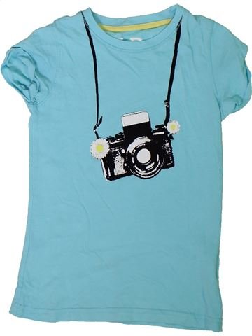 T-shirt manches courtes fille PRIMARK bleu 8 ans été #1307685_1