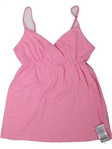 T-shirt sans manches fille TAMMY rose 13 ans été #1307851_1