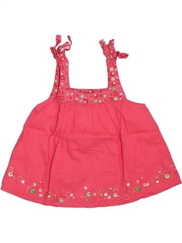 Blusa de manga corta niña OKAIDI rosa 3 años verano #1307942_1