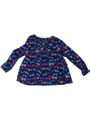 Blusa de manga larga niña NUTMEG azul 3 años invierno #1307957_1
