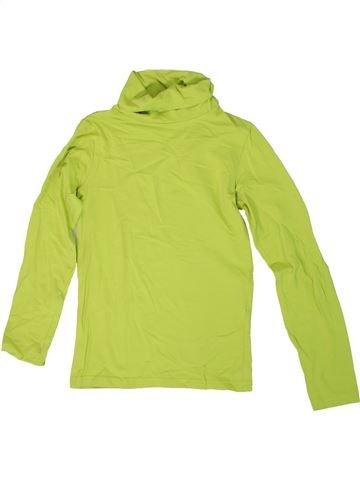 Camiseta de cuello alto niño ALIVE verde 10 años invierno #1307986_1