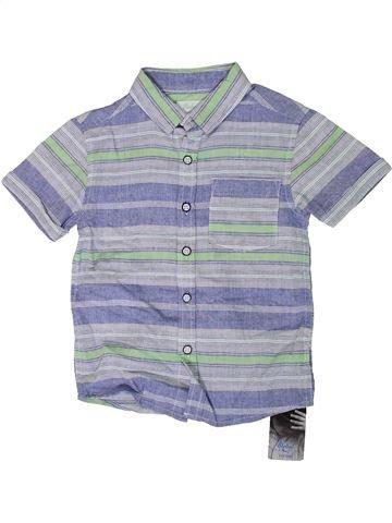 Camisa de manga corta niño PRIMARK azul 4 años verano #1308085_1