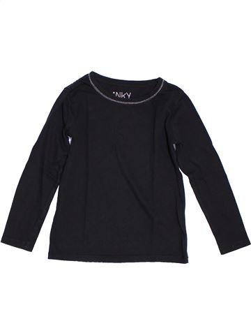 Camiseta de manga larga niña KIABI negro 5 años invierno #1308131_1
