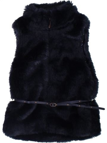 Chaleco niña OKAIDI negro 3 años invierno #1308132_1
