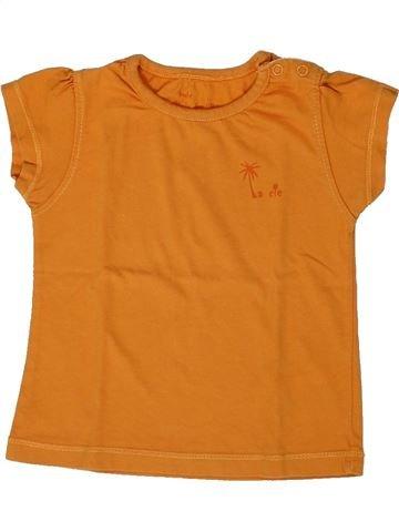 Camiseta de manga corta niña LA COMPAGNIE DES PETITS naranja 2 años verano #1308144_1