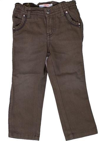 Pantalon garçon LA REDOUTE CRÉATION gris 18 mois hiver #1308188_1