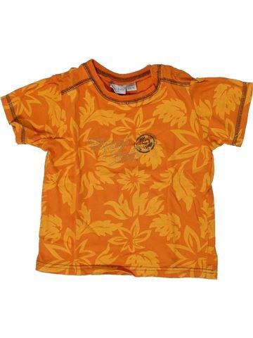 Camiseta de manga corta niño KIABI naranja 2 años verano #1308191_1