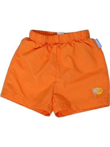 Bañador niño DÉCATHLON naranja 2 años verano #1308199_1