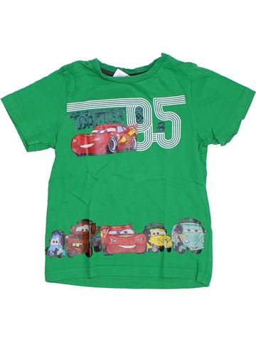 Camiseta de manga corta niño C&A verde 6 años verano #1308210_1