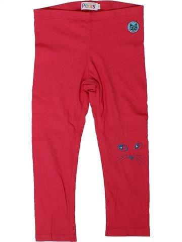 Legging niña LA COMPAGNIE DES PETITS rojo 3 años verano #1308386_1
