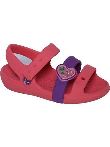 Sandalias niña CROCS rosa 24 verano #1308511_1