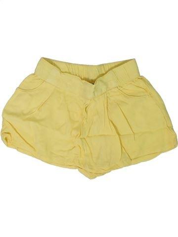 Short - Bermuda fille KIABI jaune 2 ans été #1308561_1