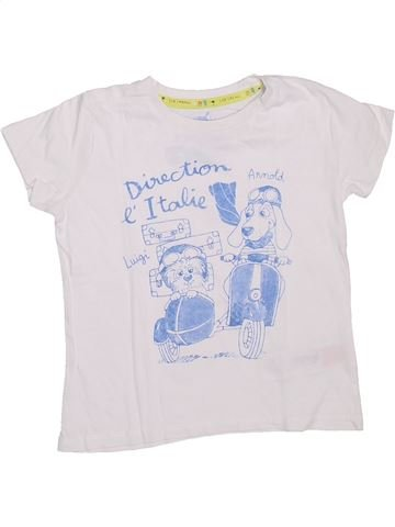 Camiseta de manga corta niño SERGENT MAJOR blanco 4 años verano #1308574_1