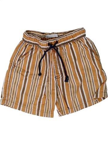 Short-Bermudas niño LA REDOUTE CRÉATION marrón 4 años verano #1308582_1