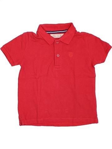 Polo de manga corta niño ZARA rojo 4 años verano #1308606_1