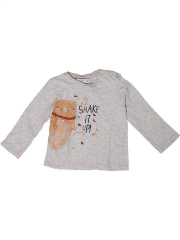 Camiseta de manga larga niño MANGO blanco 2 años invierno #1308633_1