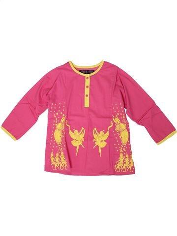 Blusa de manga larga niña MONOPRIX rosa 6 años invierno #1308689_1