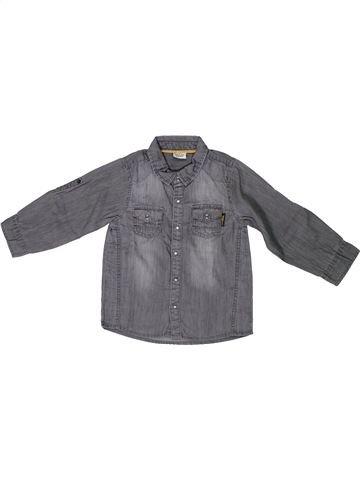 Camisa de manga larga niño TAPE À L'OEIL gris 3 años invierno #1308787_1