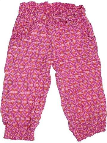 Pantalon fille ORCHESTRA rose 3 ans été #1308810_1