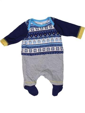Pyjama 1 pièce garçon M&CO bleu prématuré été #1309127_1