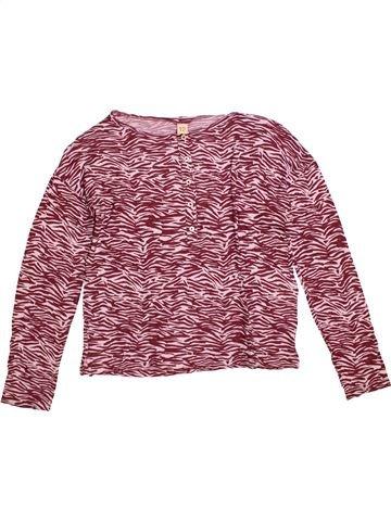 Camiseta de manga larga niña BELLEROSE marrón 12 años invierno #1309158_1