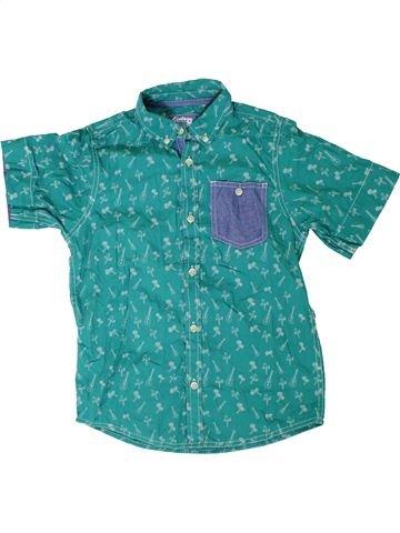 Camisa de manga corta niño VINTAGE HAWAII verde 9 años verano #1309534_1