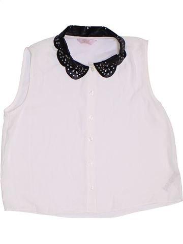 Blusa de manga corta niña KYLIE blanco 13 años verano #1309634_1