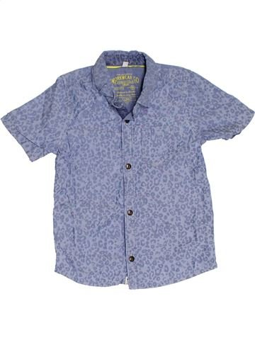 Camisa de manga corta niño MARKS & SPENCER gris 4 años verano #1309785_1