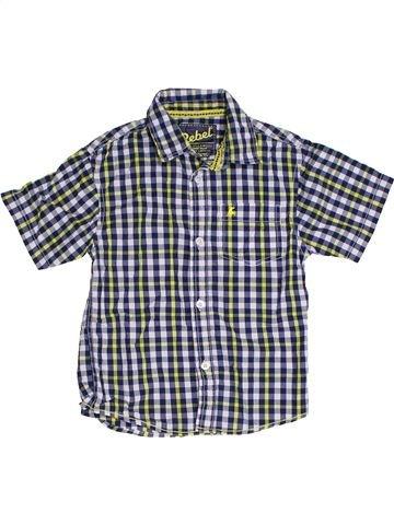 Camisa de manga corta niño PRIMARK azul 5 años verano #1309791_1