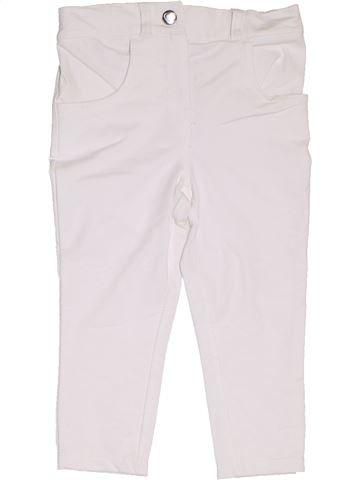 Pantalón niña DUNNES STORES blanco 3 años invierno #1309830_1