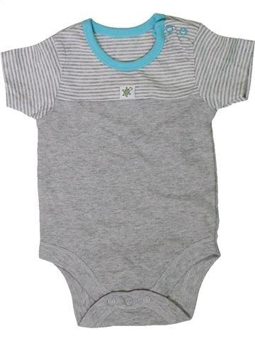 Camiseta de manga corta niño GEORGE gris 9 meses verano #1310105_1
