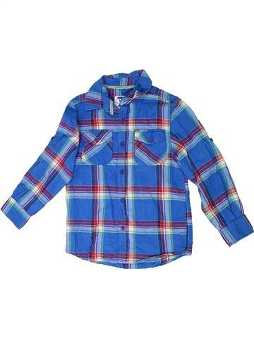 Camisa de manga larga niño TU azul 8 años invierno #1310242_1