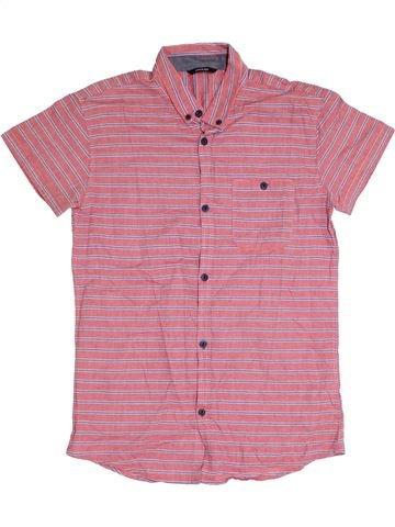 Camisa de manga corta niño GEORGE rosa 14 años verano #1310253_1
