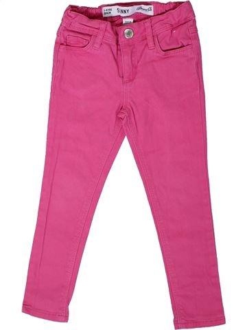 Pantalón niña PRIMARK rosa 4 años verano #1310335_1